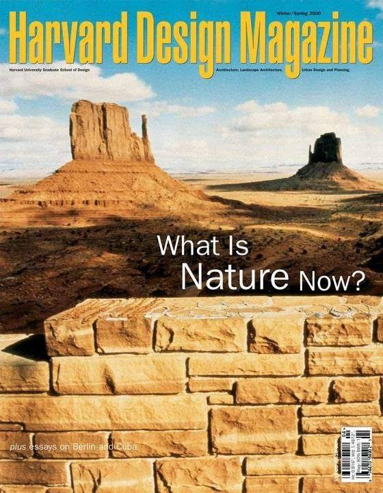 harvard design magazine harvard design magazine 10 what is nature now bruil 10262